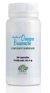 ONAGRE BOURRACHE + Vit. E