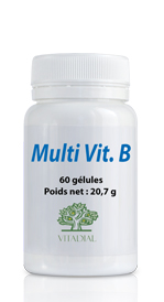 Multi vitamines B 60 gélules